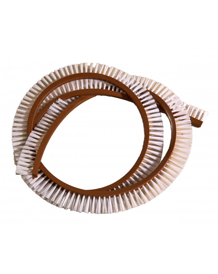 Courroie brosse PVC