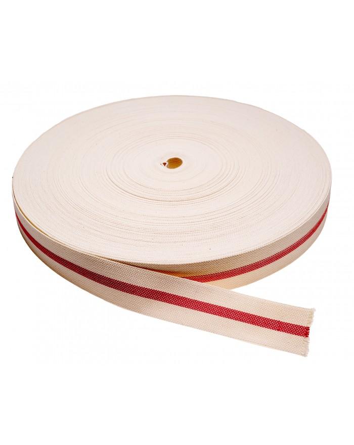 Coton caoutchouté élastomère bande couleur (33 13)